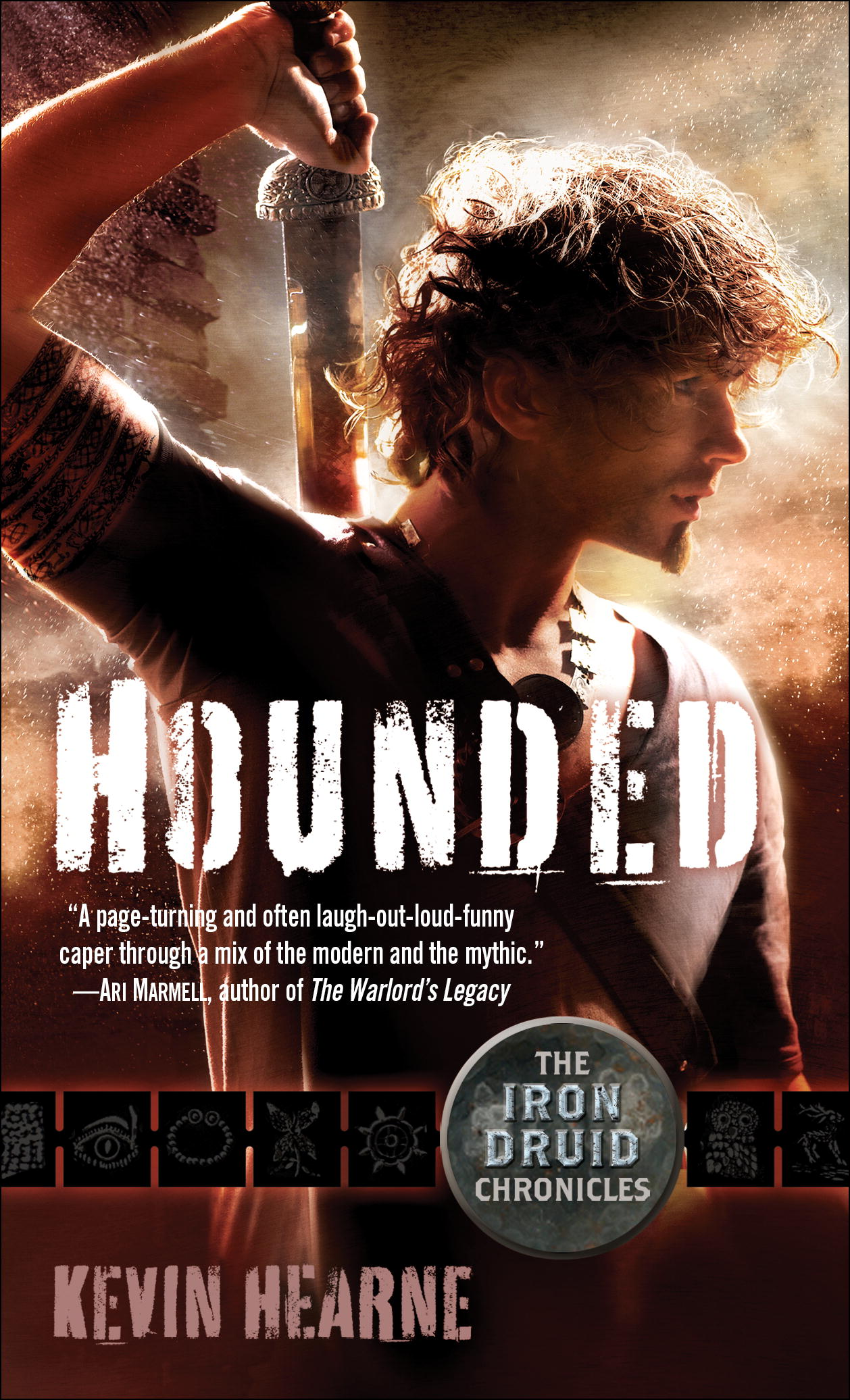 HOUNDED is now available! I'm published!