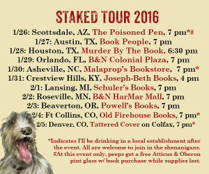 staked tour