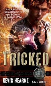 The Iron Druid Chronicles TRICKED-cover-178x300