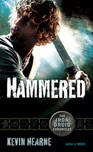 The Iron Druid Chronicles Hammered-cover-184x300